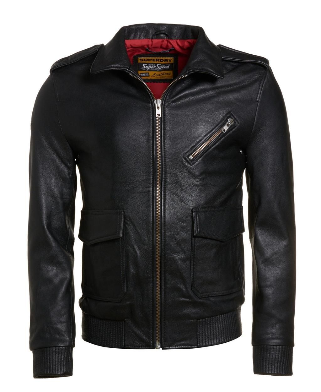 Something like this men's small FAUX LEATHER BOMBER