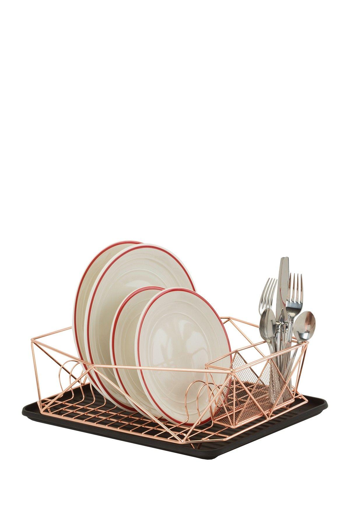 Kennedy International Inc. | Kitchen Details Geode Dish Rack - Copper | Nordstrom Rack
