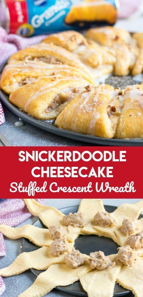 Snickerdoodle-Käsekuchen angefüllter sichelförmiger Kranz, Feiertagsbacken KANN einfach sein! Dieser Snickerdoodle Cheesecake Crescent Wreath ist das Rezept, das Sie für eine schnelle, einfache Belohnung brauchen, die jeder lieben wird. Vervollkommnen Sie für Feiertagsbrunch oder ein einfaches Dessert, um der Verbreitung hinzuzufügen. # Anzeige #halbmondkranz #easyrecipe #Dessert   Source by twopeasandpod ,#angefullter #kasekuchen #kranz #sichelformiger #snickerdoodle #dessertfacileetrapide