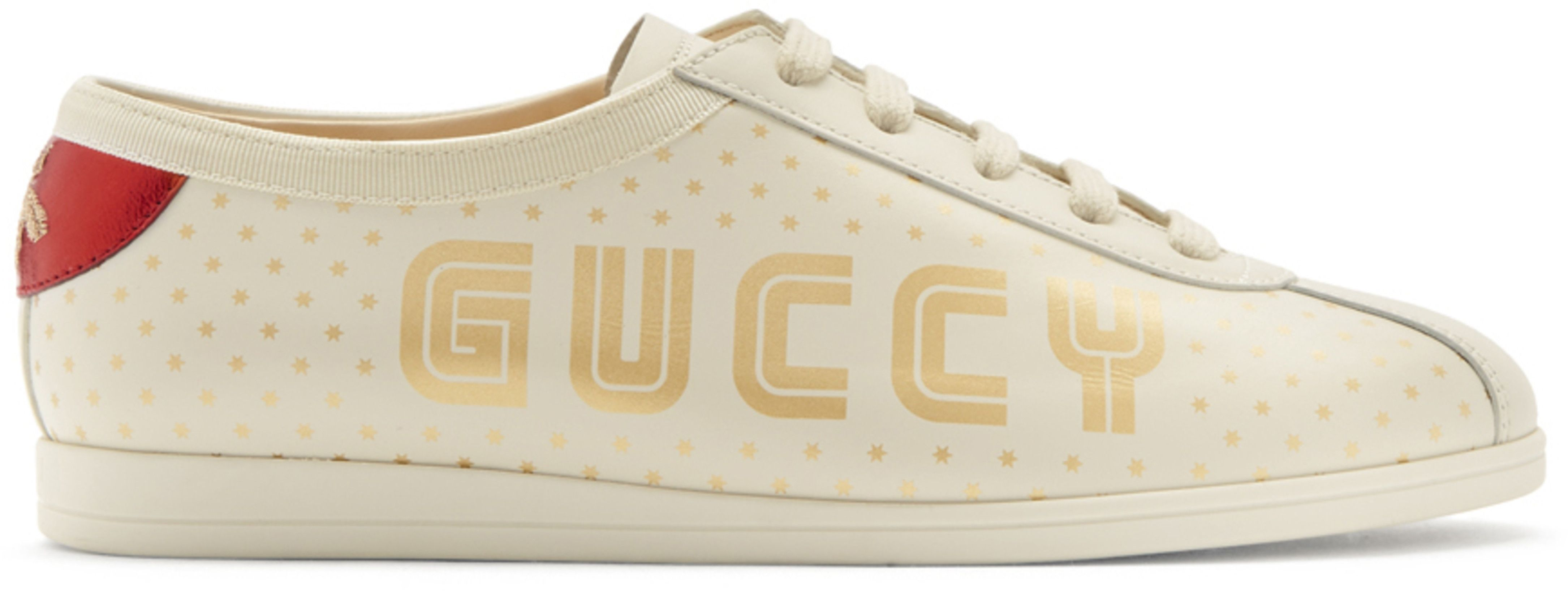 74ee60969 Gucci - White Sega 'Guccy' Falacer Bowling Sneakers | Sneaker fix ...
