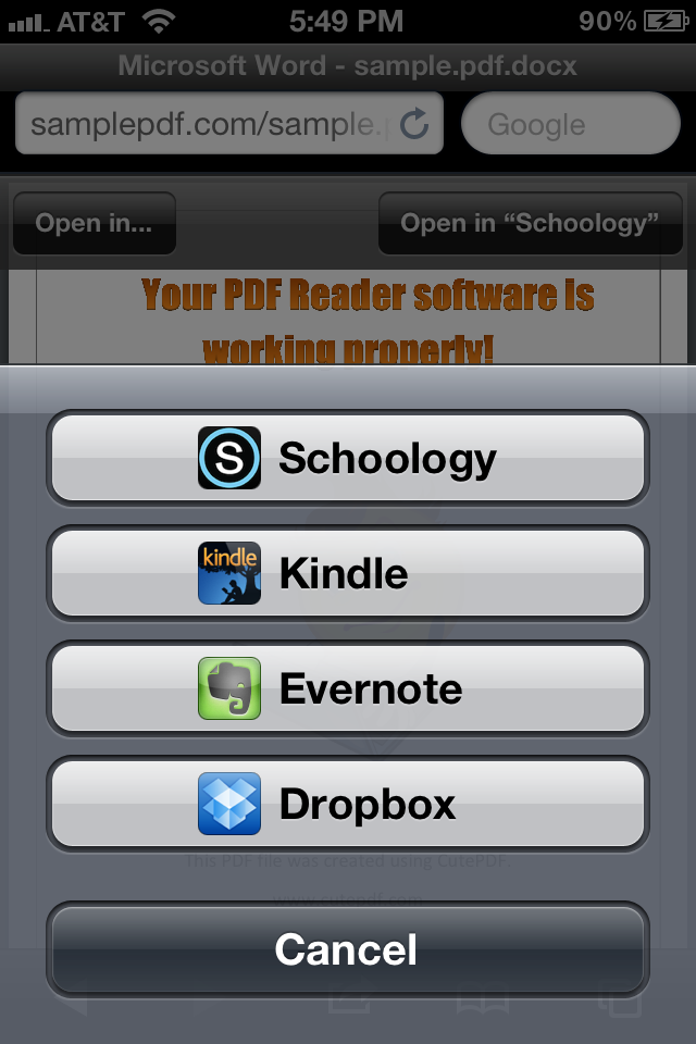 Schoology iPhone & iPad App Update Schoology, Classroom