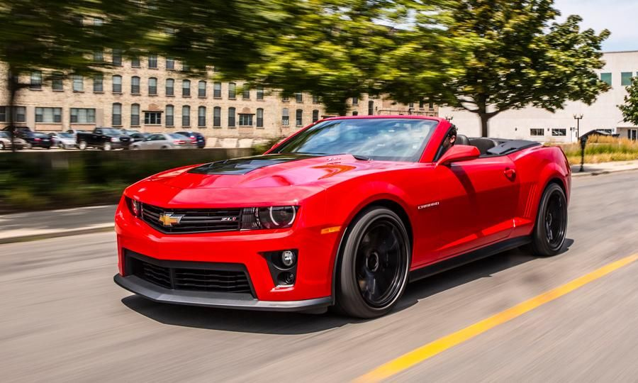 2013 Chevrolet Camaro ZL1 convertible review notes The