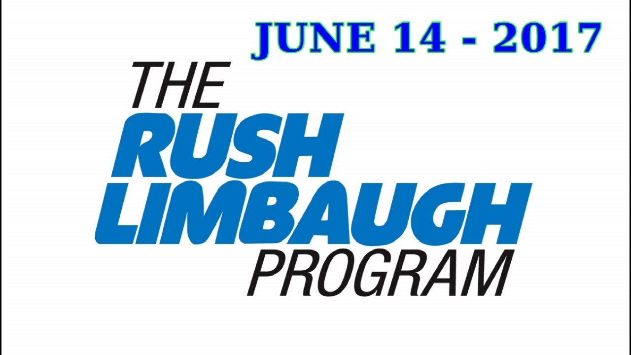 Rush Limbaugh Show Podcast June 14 - 2017