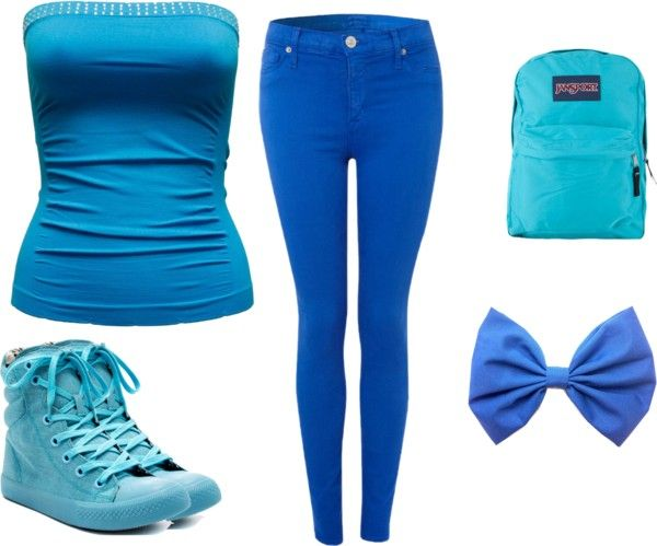 """Blue:)"" by tamibro5472 ❤ liked on Polyvore"