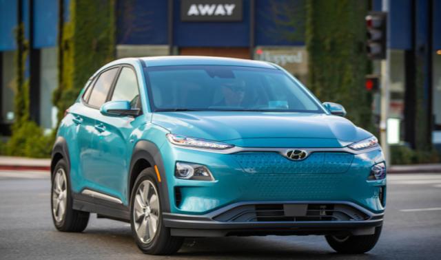 The 2019 Hyundai Kona Electric Preview Electric Cars Hyundai Car