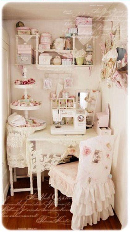 habitaci n para la costura deco love pinterest atelier maison de bonbons et atelier de. Black Bedroom Furniture Sets. Home Design Ideas