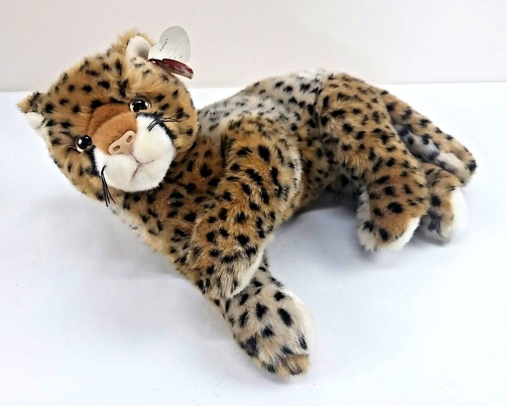 Ty Classic Plush Piston Cheetah Leopard Panther Stuffed Animal 12