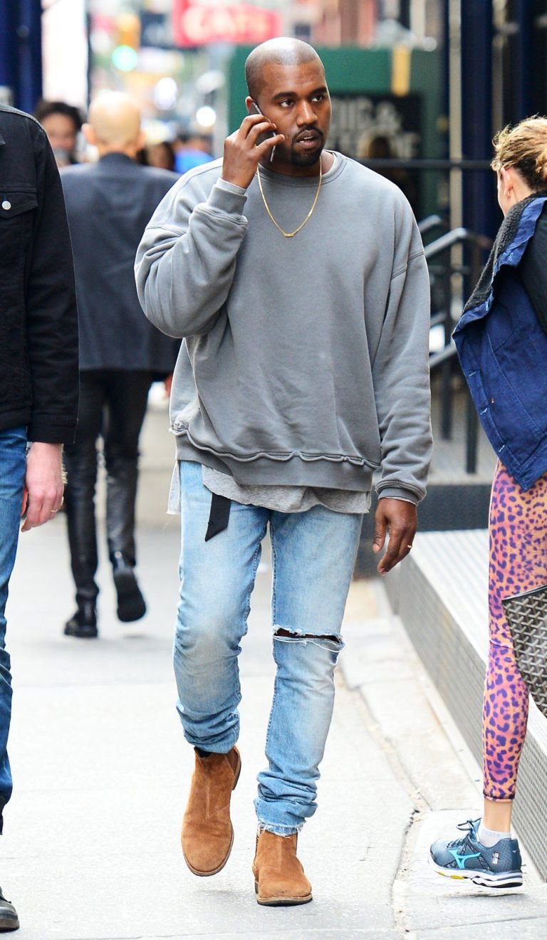 76ce94bb52bb Image result for kanye west chelsea boots