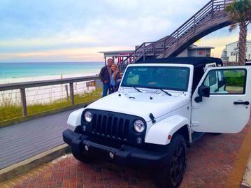 Destin Jeep Rentals 30a Jeep Rentals Panama City Beach Jeep