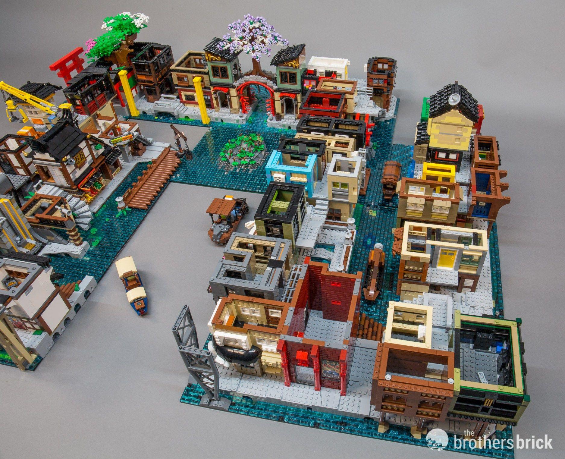 Building Ninjago City: The Brothers Brick open ...