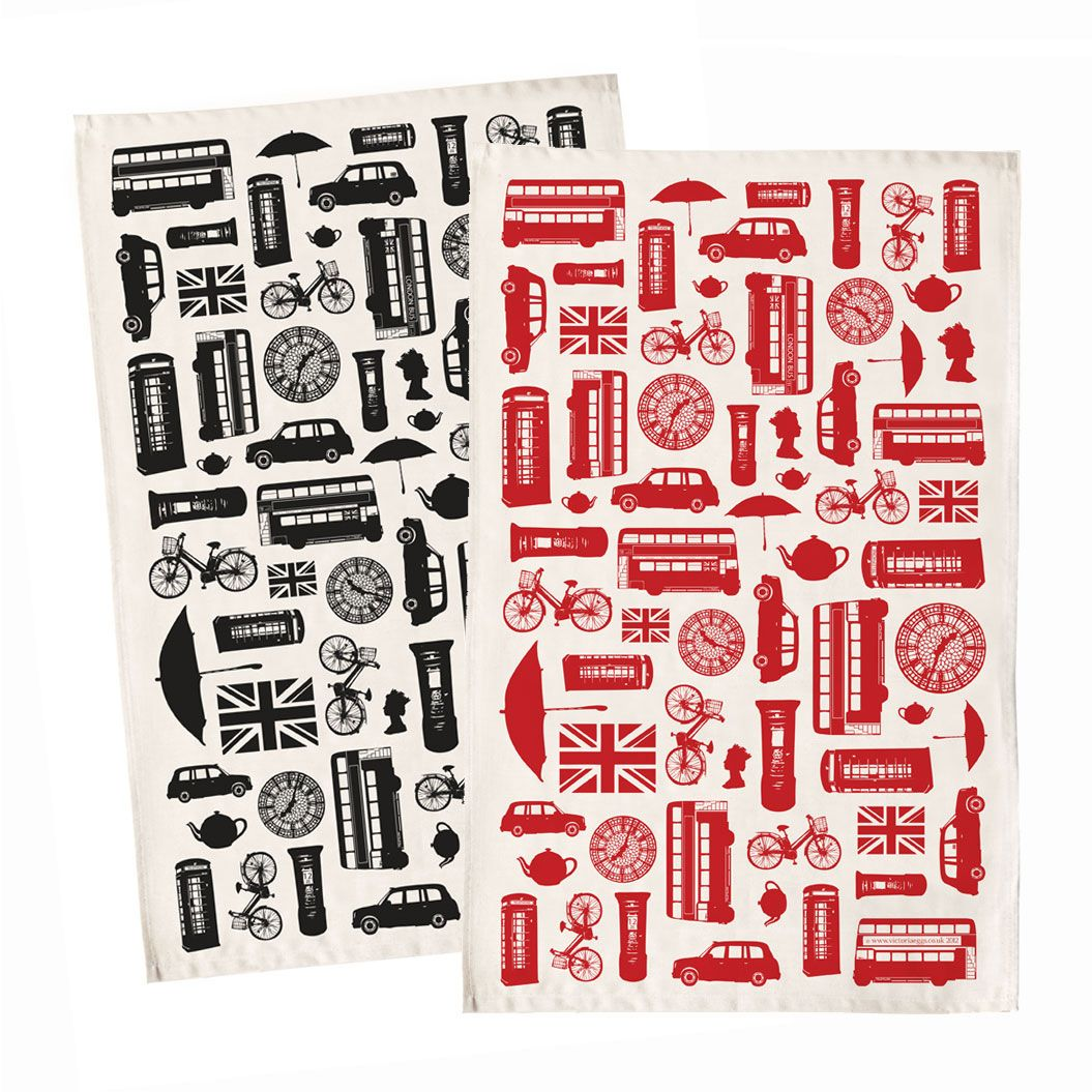 Pin By Ighsaan Robinson On The Icon Tea Towels London Tea Great British
