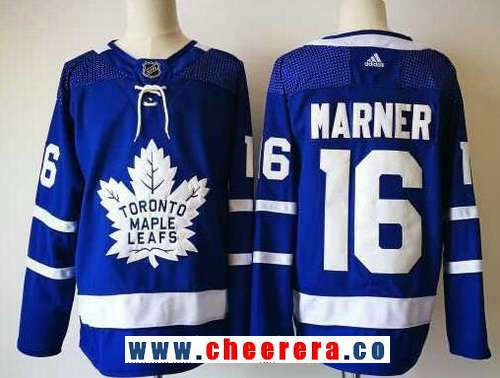 low priced 0fbdd f82c1 Men's Toronto Maple Leafs #16 Mitchell Marner Royal Blue ...