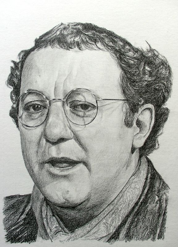 coluche manvale dessins portraits partir de photos mes portraits en noir et blanc. Black Bedroom Furniture Sets. Home Design Ideas