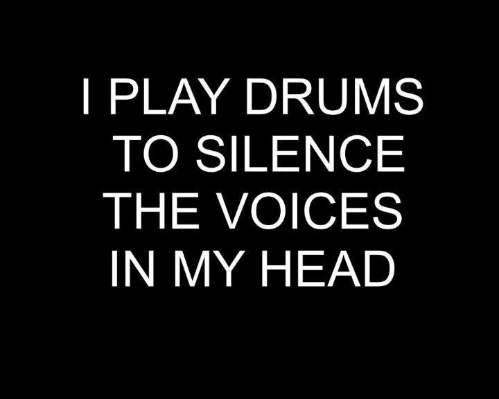 Pin by Lee Leslie on Drums! | Drummer quotes, Drums quotes ... |Funny Percussion Quotes And Sayings Short