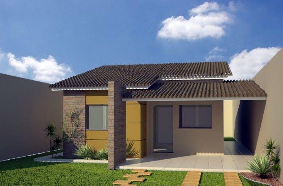Modelos de casas para construir fachadas de casas com for Modelos de casas para construir
