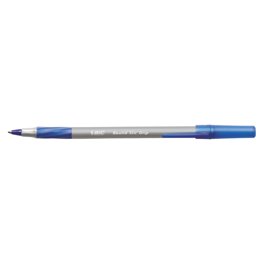 Dozen Blue Ink Fine Point Blue Barrel Pilot Neo-Gel Stick Roller Ball Pens