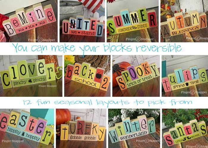 Reversible blocks
