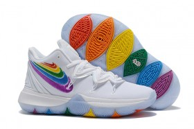 Nike Kyrie 5 White Multi-Color Classic