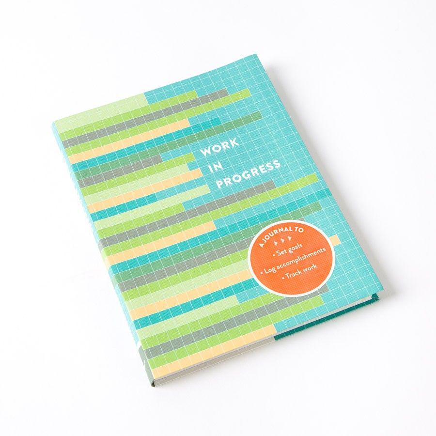 Work in Progress: A Journal to Set Goals Price $7.48