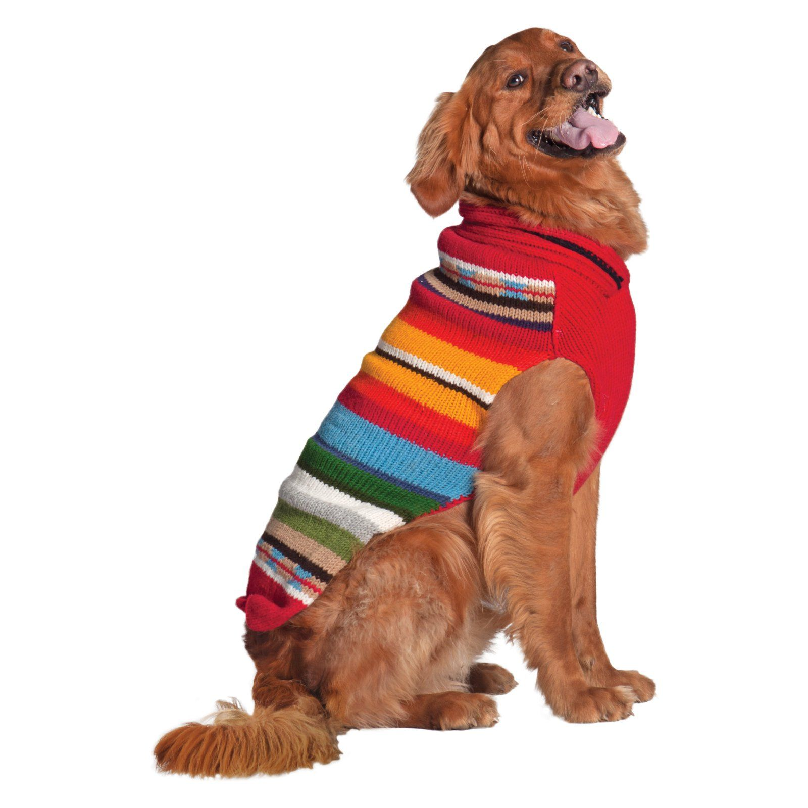 Chilly Dog Red Sundance Dog Sweater