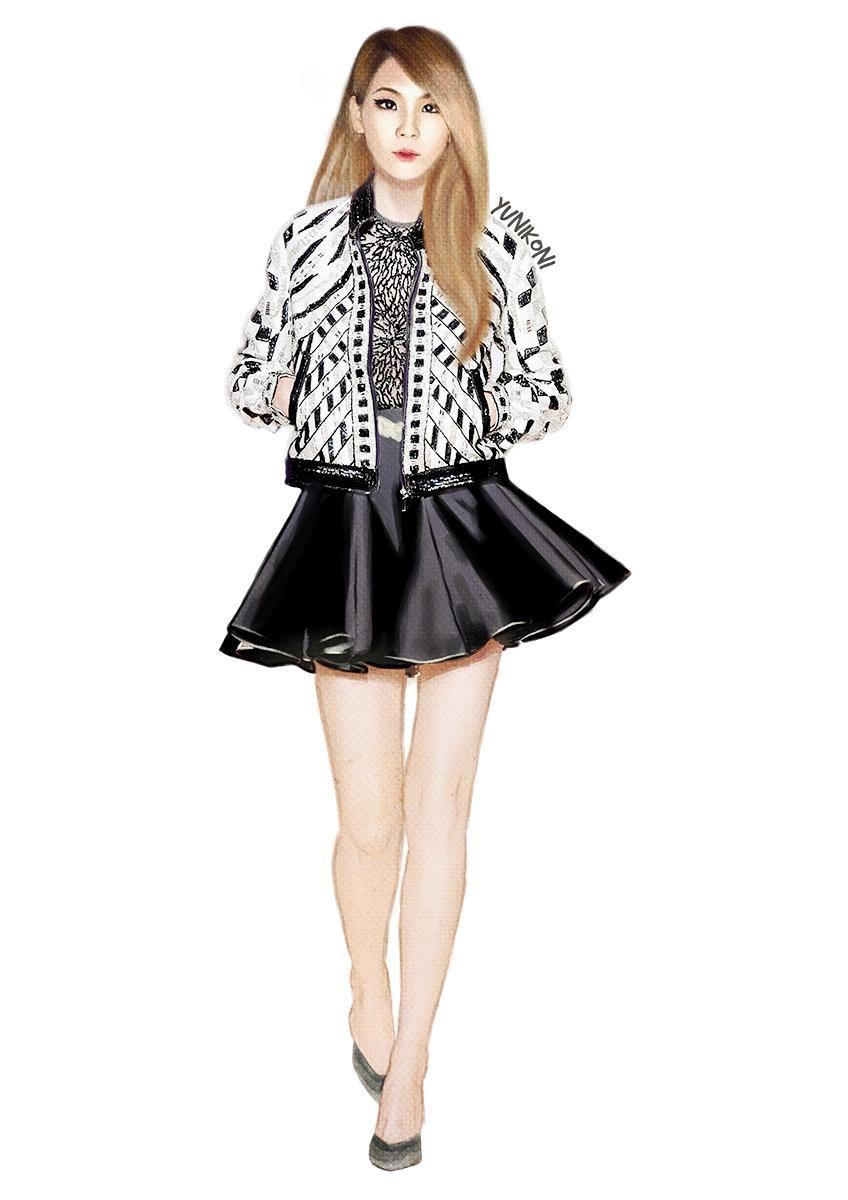 #CL #2NE1fanart