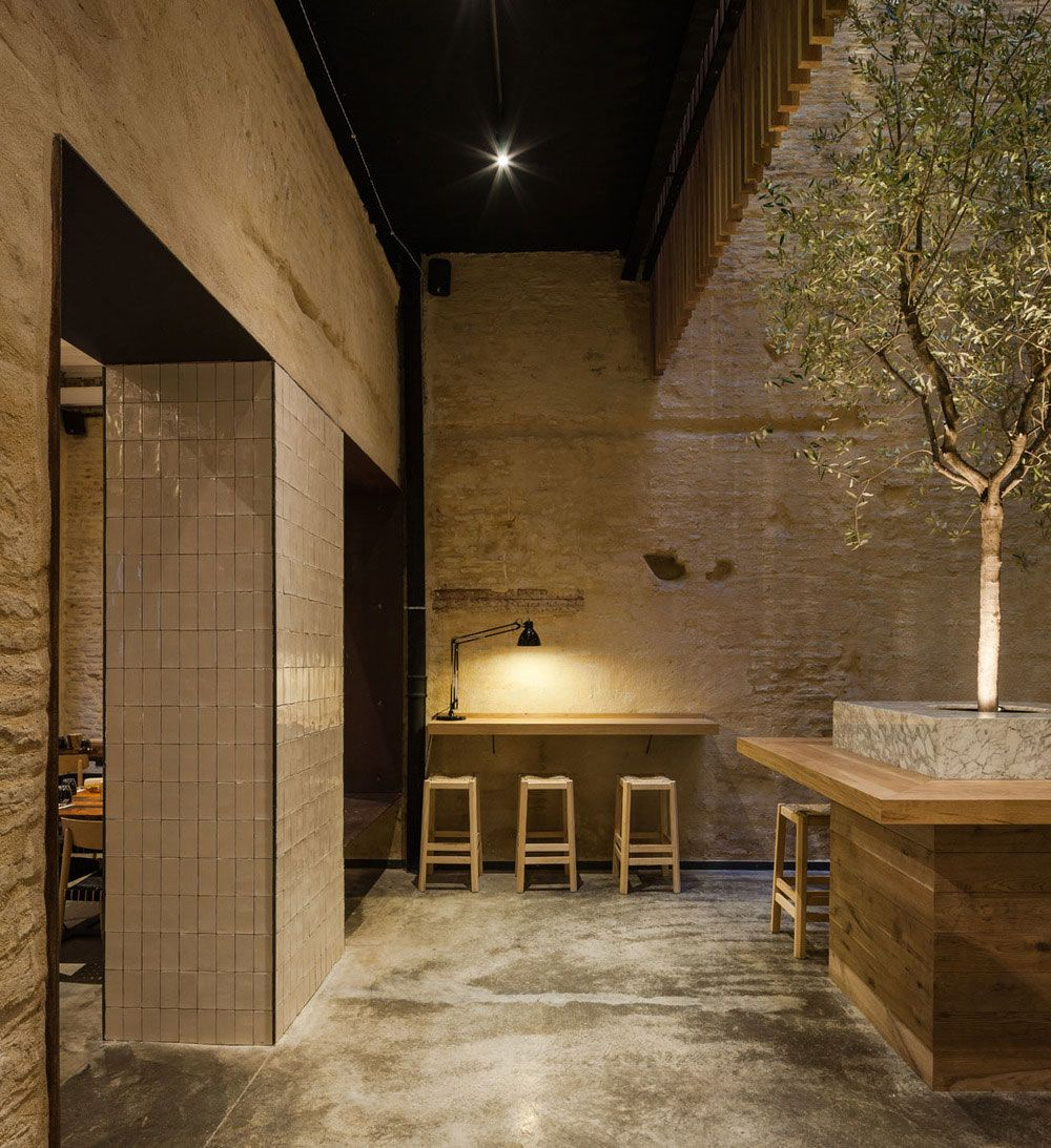 merging old city and contemporary design | restaurants, bar and