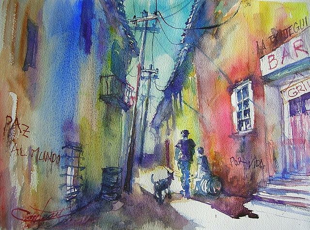 Havanna's street.    Christian Couteau