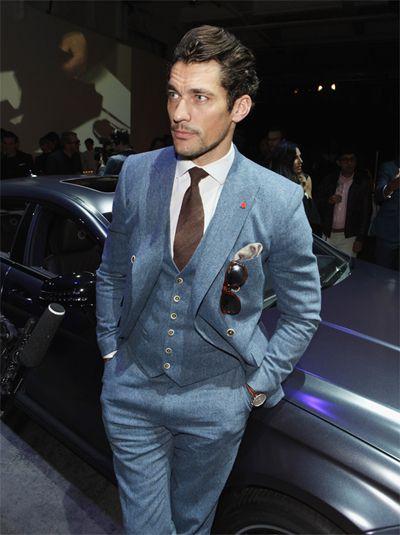 David Gandy – Top Ten Three Piece Suits | David gandy suit ...