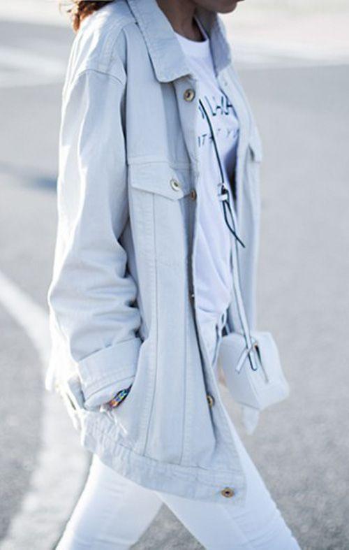 * FINALIST * Lucitísima  Jacket >> http://mng.us/1myBAf1 Jeans >> http://mng.us/1o2CbFk #SS14 #MangoStreet #April