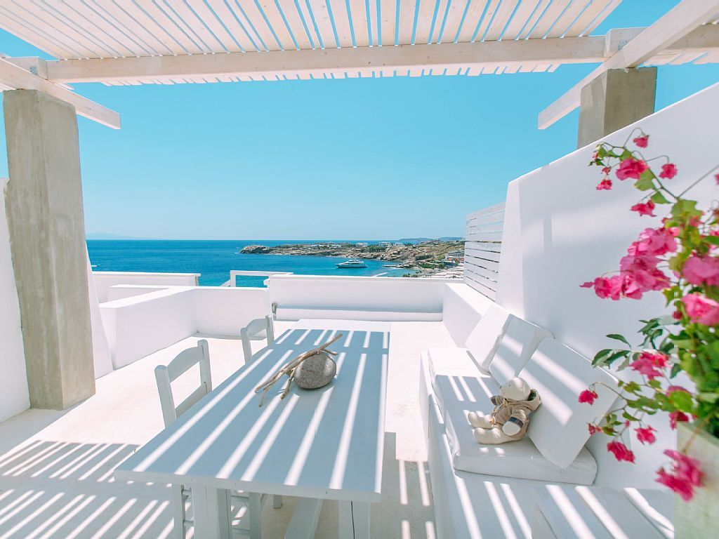 In Griechenland: 1 Schlafzimmer, Für Bis Zu 4 Personen. Meerblick, Infinity  Pool, Pool Café Bar, Im Freien Mini Fitness Studio | FeWo Direkt