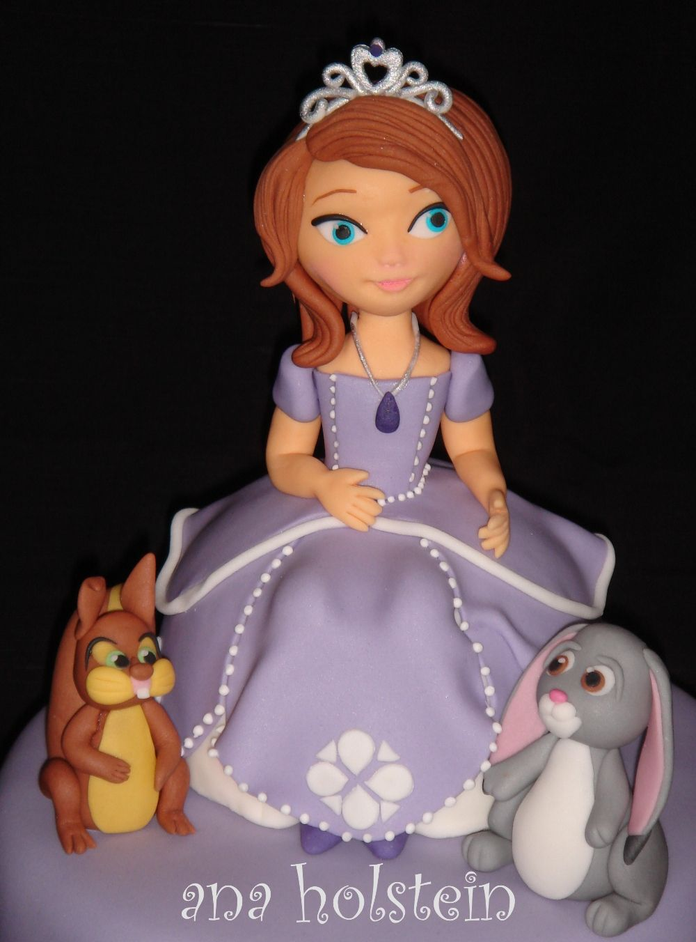 Princess Sofia Disney Cake Topper