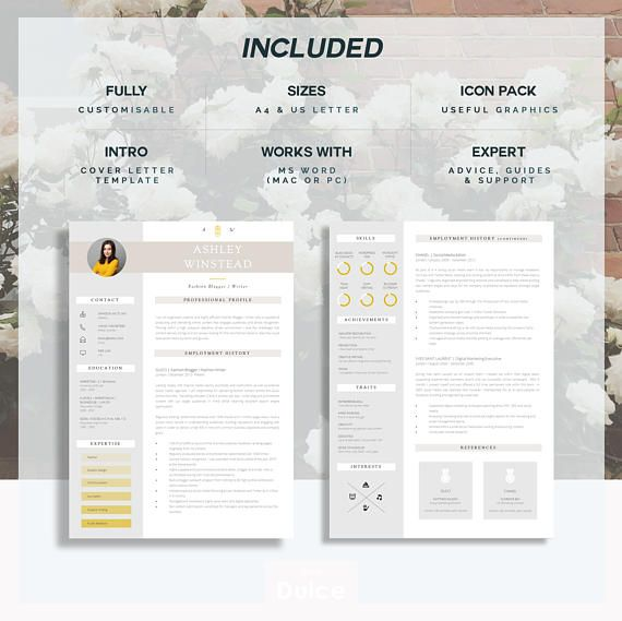 This Super Easy To Edit Professional Resume Template  Creative
