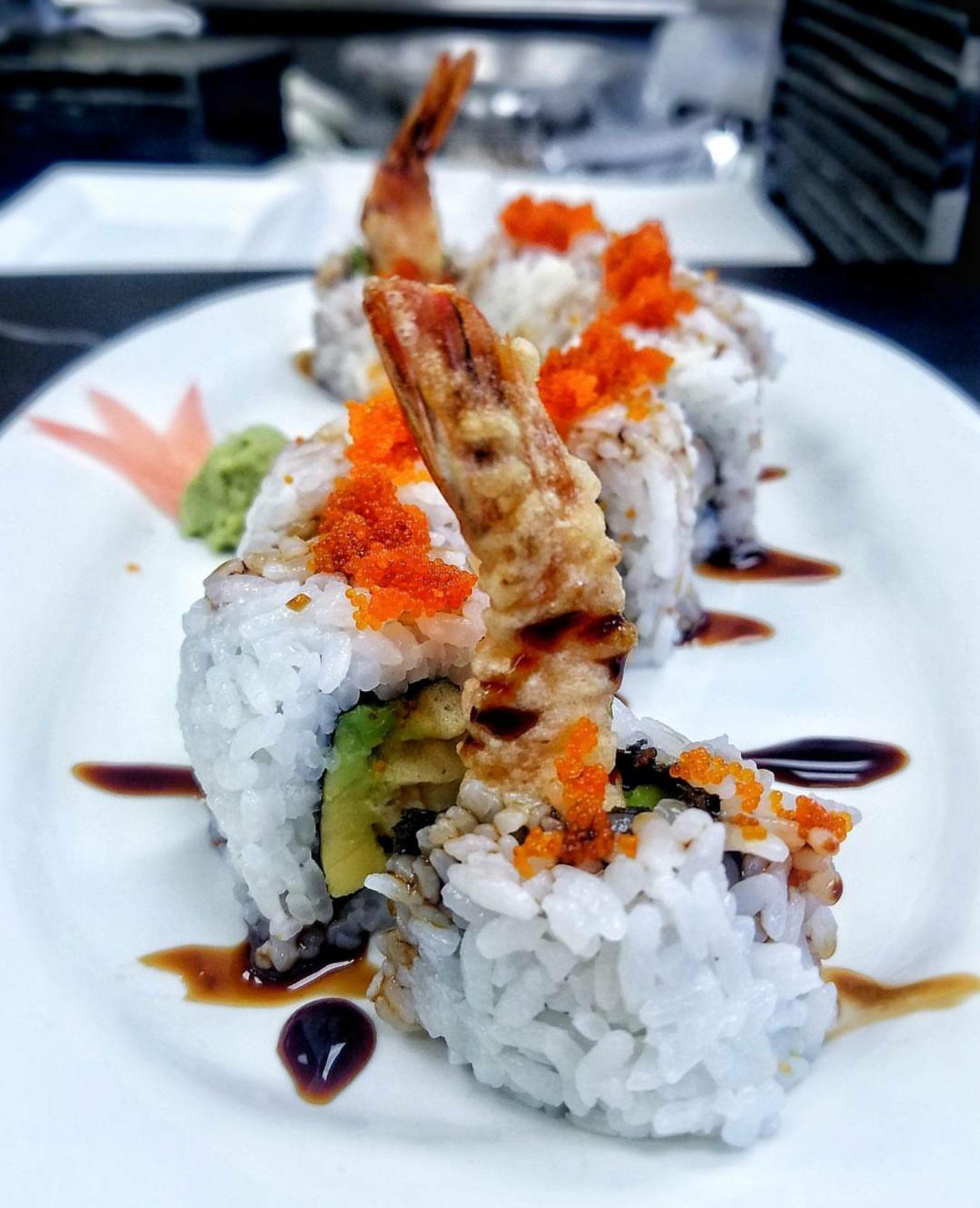 Ricetta Sushi In Tempura.Shrimp Tempura Uramaki Sushi Food Foodporn Japanese Japan Dinner Sashimi Yummy Foodie Lunch Yum