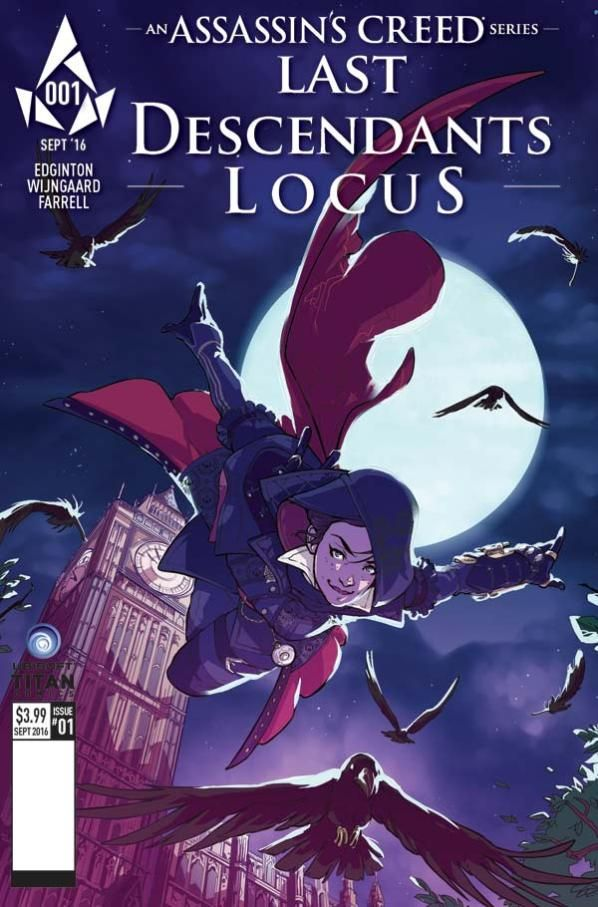 Titan Comics Announces Assassin S Creed Last Descendants Locus