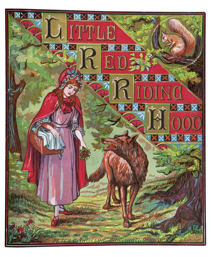 Cover of little red riding hood published by peter g