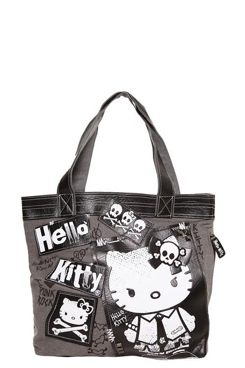 0a9c026e4 Loungefly - Hello Kitty Punk Rock Tote | Give me your bag and no one ...