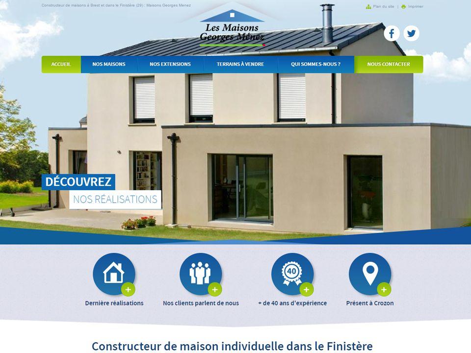 Constructeur De Maisons Sur Le Secteur De Brest Et Finistere Constructeur De Maison Individuelle Constructeur Maison Maison Individuelle