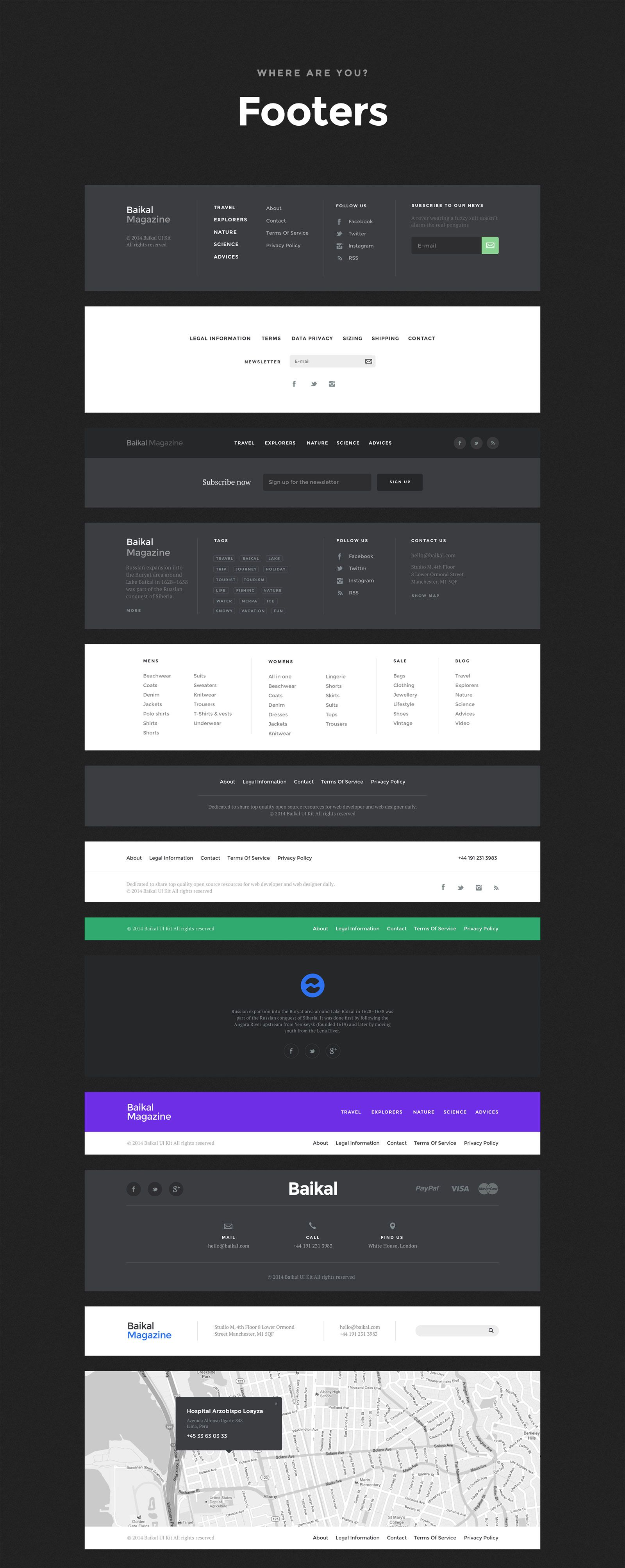 Baikal – Stylish Web Component Based UI Kit