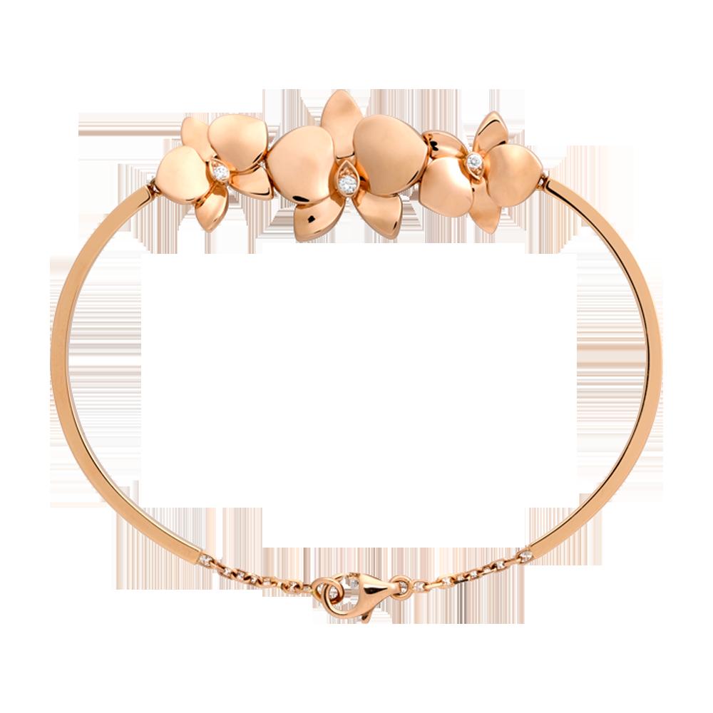 faf53b8006285 cartier-pink-gold-caresse-d'orchidees-par-bracelet | Beautiful ...