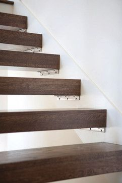 Best Open Treads Bracket Detail Contemporary Staircase Timber 400 x 300