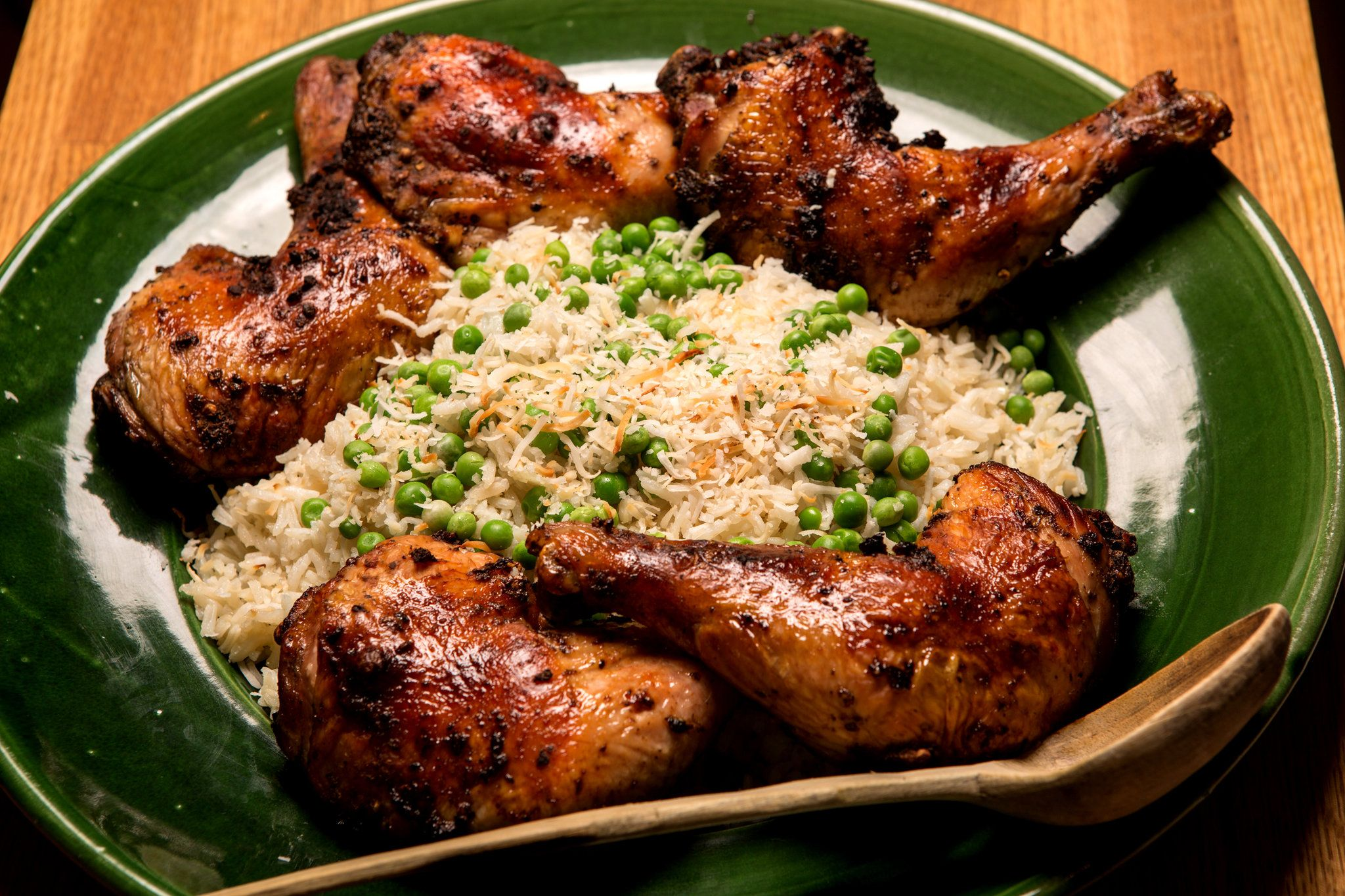 Coconut rice with peas recipe chicken duck turkey coconut rice with peas recipe chicken duck turkey pinterest coconut rice rice and coconut ccuart Image collections