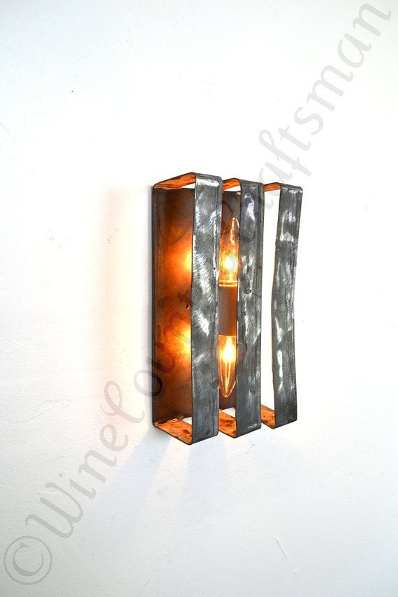 Loft Lighting V22 Wine Barrel Ring Wall Sconce 100 Recycled