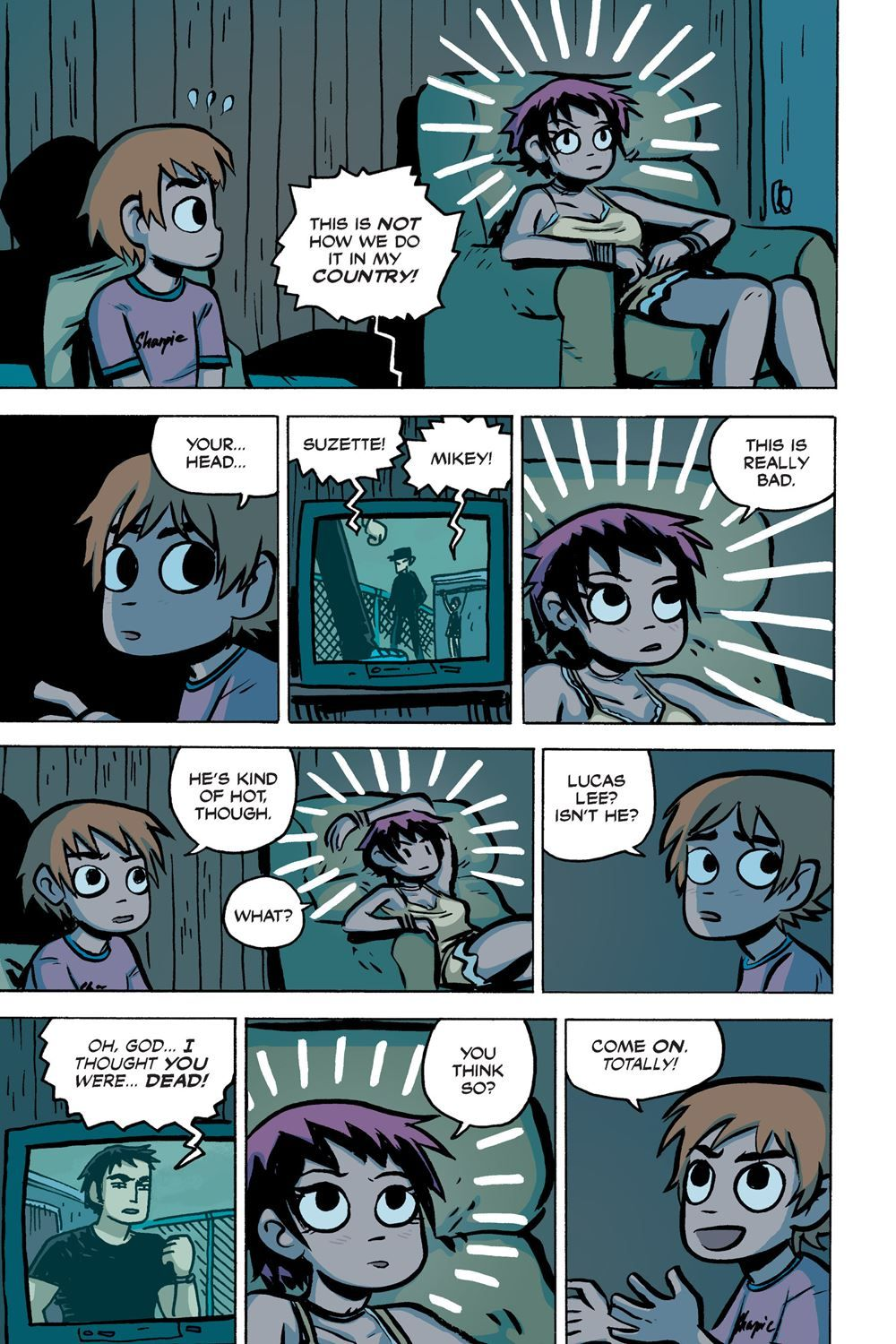 Scott Pilgrim Vol  2 (of 6) Scott Pilgrim vs  the World