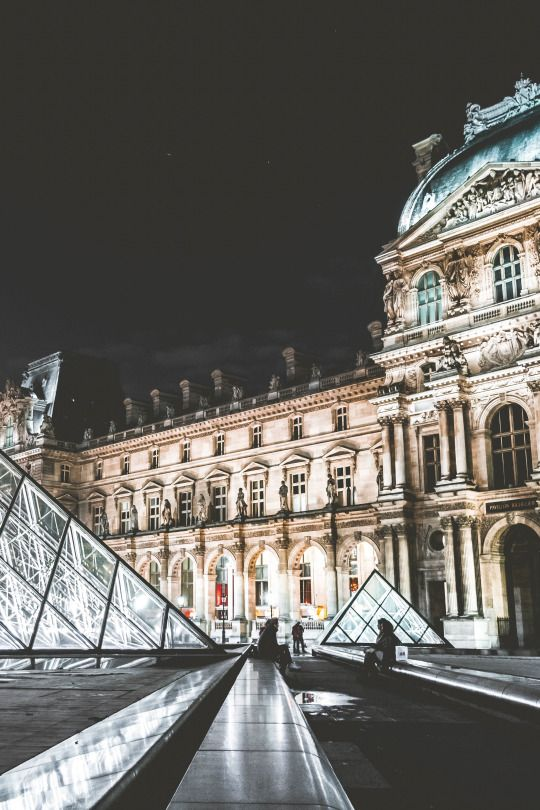 The Louvre, Paris France •Woolcott•
