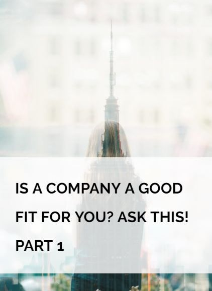 #Career talk! During the job hunting process we focus on finding a great role that suits our skills and goals. But the company we work for also has a big ...