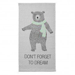 Tappeto Grande orso Bear rug, Bear area rug, Cotton rug