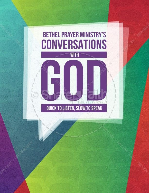 Conversations with God Christian Flyer Share Faith favs - christian flyer templates