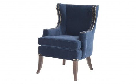 Surprising Blue Velvet Side Chair Living Room Chair Stylish Chairs Gmtry Best Dining Table And Chair Ideas Images Gmtryco