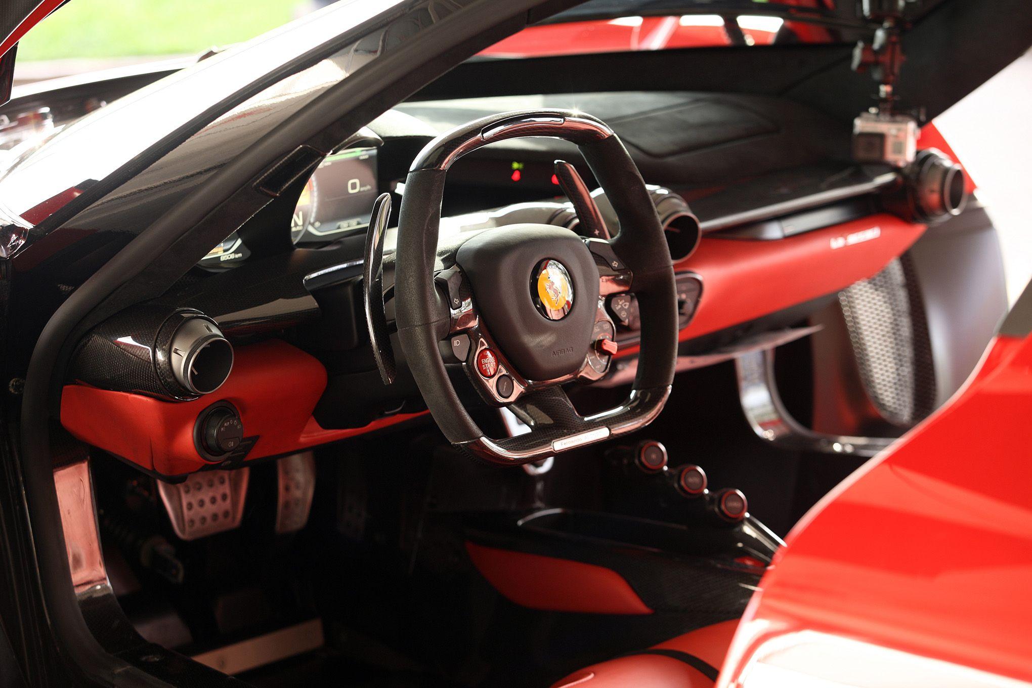 2017 Ferrari LaFerrari Interior