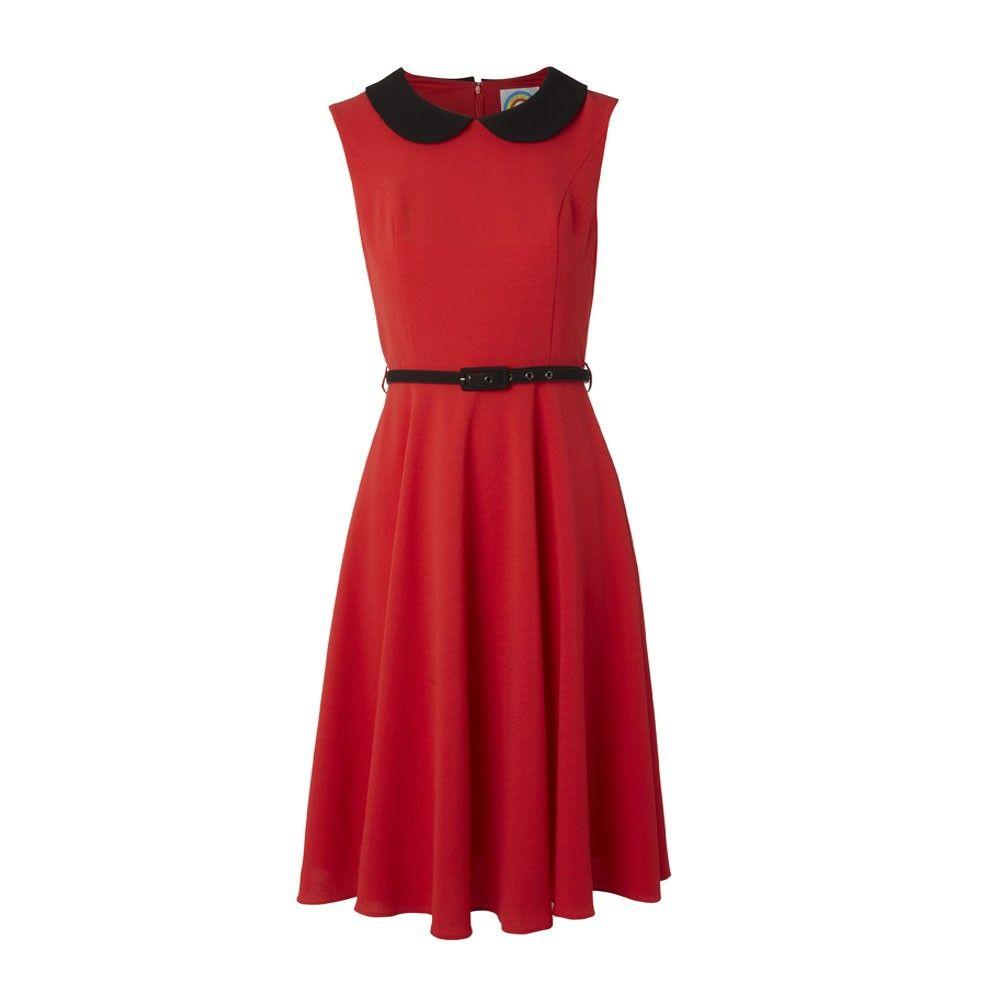 Diana dress redblack dream closet pinterest red black diana